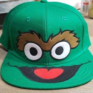 7fdb78648aa0 Sesame Street Accessories | Cookie Monster Flat Bill Hat | Poshmark
